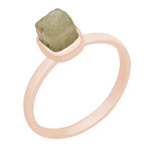 Ring aus Gold mit gelbem Rohdiamanten Yianna - Eppi