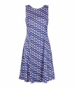 Christy Dress blue - blaues Sommerkleid von People Tree - People Tree