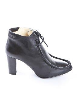 Jonny's Ankle Boot Napa Autolucida Negro - Jonnys