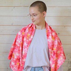 Dreieckstuch Bio-Baumwolle Batik - denkefair