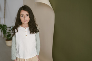 Kinder Longleeve aus weichem Bio-Jersey - frankie & lou organic wear