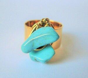 Bronze Ring - Turquesina - Bochica