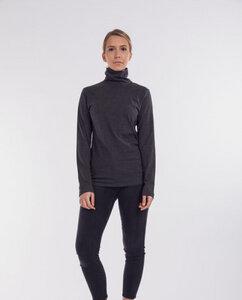 Damen Langarmshirt mit Rollkragen aus Bio-Baumwolle - Pyang - Degree Clothing