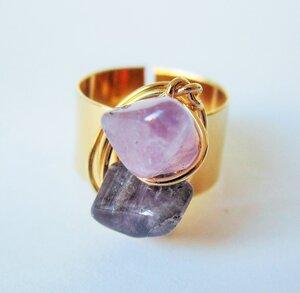 Bronze Ring - Violeta - Bochica
