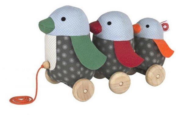 Nachziehtier Pinguin George Nachziehspielzeug
