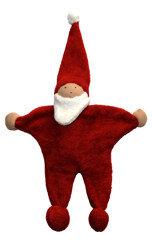 Weihnachtsmann, Stoff-Weihnachtsmann - Preciosa