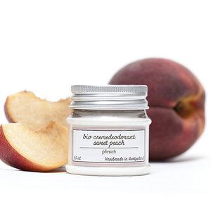 PonyHütchen | Deocreme 'sweet peach' | Duft: Pfirsich | ohne Aluminium - PonyHütchen