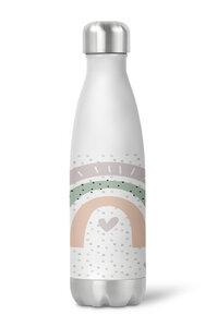 Thermoflasche Trinkflasche Regenbogen für Kinder Kindergarten Schule - wolga-kreativ