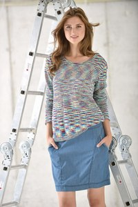 Pullover aus Leinenstrick - multicolor - Madness