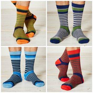 4er Pack Bambus Socken Gregor - Braintree