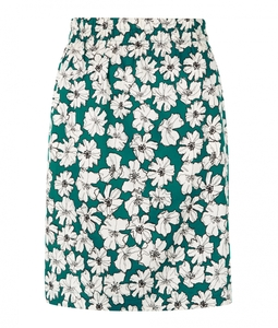 Lauren Skirt Green - People Tree