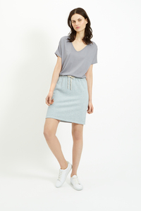 Selena Loopback Skirt Blue - People Tree