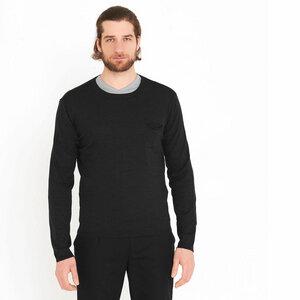 Pullover Rundhals Black - ben|weide