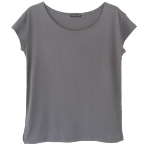 T-Shirt Loose Dark Grey - Les Racines Du Ciel