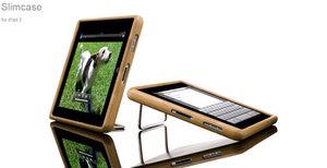 iPad 2 Slimcase Bamboo - Schutzhülle aus Bambus - Vers