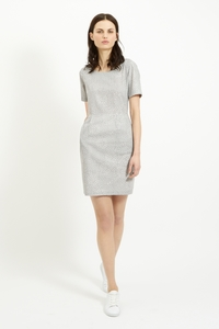 Felicia Pocket Dress Grey - People Tree