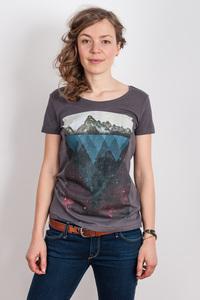 Kopfstein – Feuer - Ladies Organic Cotton Slub T-Shirt - Nikkifaktur