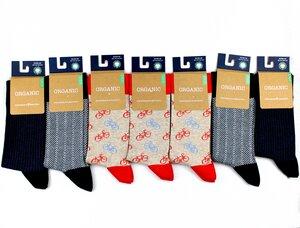 """GOTS zertifizierte Biobaumwolle Socken in """"7 Pack"""" - VNS Organic Socks"""