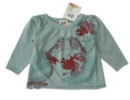 T-Shirt/Kleid mit Bullfinches - Itsus