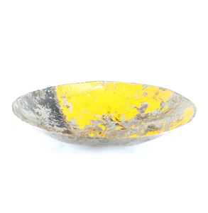 Leo Ölfass Schale, gelb - Africa Design