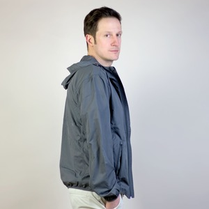 Recycled Windjacke Open to the Elements - Gary Mash