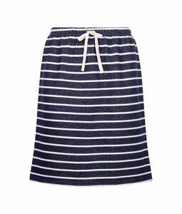 Selena Loopback Skirt navy-white von People Tree - People Tree