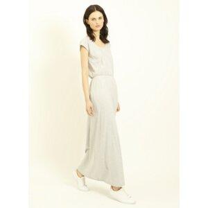 Marie Maxi Dress Grey Melange - People Tree