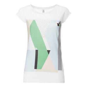 ThokkThokk Crosstown Cap Sleeve Damen T-Shirt white - THOKKTHOKK
