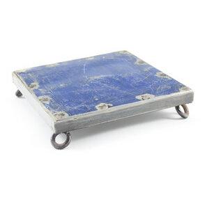 Ölfässer Untersetzer blau - Africa Design
