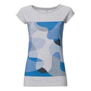 ThokkThokk Reef Cap Sleeve Damen T-Shirt melange - THOKKTHOKK