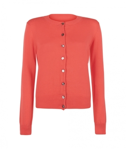 Catherine Cardigan Coral - People Tree