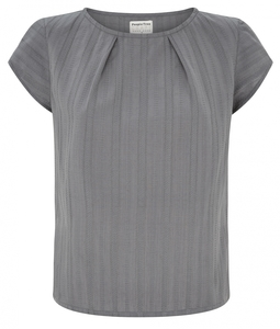 Cosima Blouse Grey - People Tree
