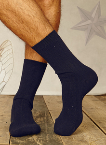 4er Pack Hanf Socken Navy - Thought | Braintree