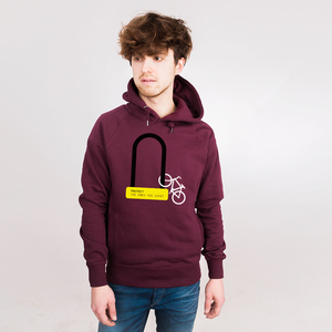 Protect the Ones You Love - Männerhoodie aus Bio-Baumwolle - Coromandel