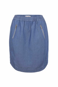 Antep Skirt - light blue denim - Komodo