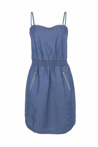 Toxini Dress - blue denim - Komodo