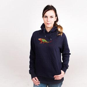Chameleon - Frauenhoodie aus Bio-Baumwolle - Coromandel