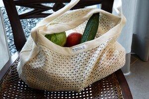 Einkaufstasche aus Bio-Baumwolle - Re-Sack