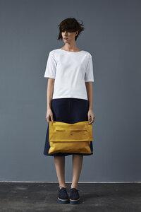 Pillow Bag aus Leder - LUXAA