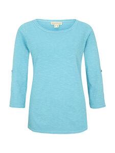 Shirt 3/4 Arm zum Krempeln - aqua - Madness