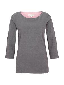 Shirt 3/4 Arm zum Krempeln - grau - Madness