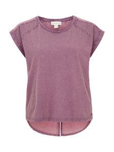 Shirt mit Voile Rückenteil - lila - Madness