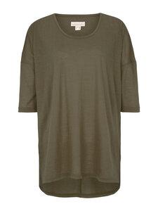 Shirt oversized 3/4 Arm - olive - Madness