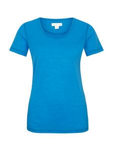 Basic Shirt Rundhals - blau - Madness