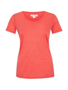 Basic Shirt in leichter Merinowolljersey-Qualität - koralle - Madness