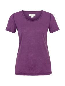 Basic Shirt in leichter Merinowolljersey-Qualität - lila - Madness
