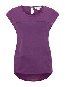 Shirt Vorderteil doppellagig Voile - lila - Madness