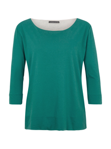 Shirt Round Neck in grün - Les Racines Du Ciel