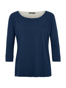 Shirt Round Neck in blau - Les Racines Du Ciel