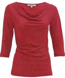 Linen Cascade poppy red - Alma & Lovis